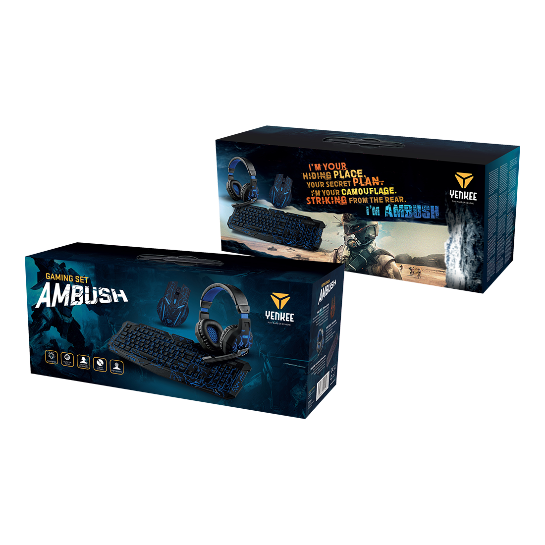 AMBUSH GAMING SET
